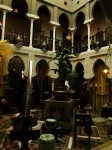 The Court of Lions inside Villa Zorayda