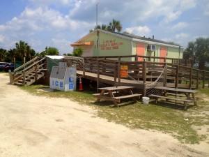 Food Shack at Vilano Boat Ramp