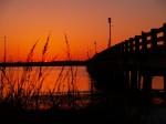 Vilano Beach Pier at Sunset