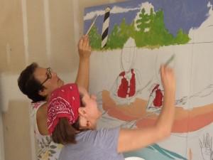 Kickstarter 450th Commemoration Mural Project