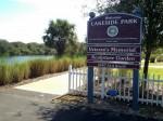 Lakeside Park Entrance