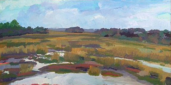 Eagle Creek Marsh Scene