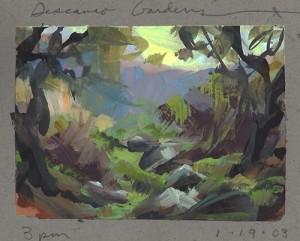 Nathan Fowkes Land Sketch