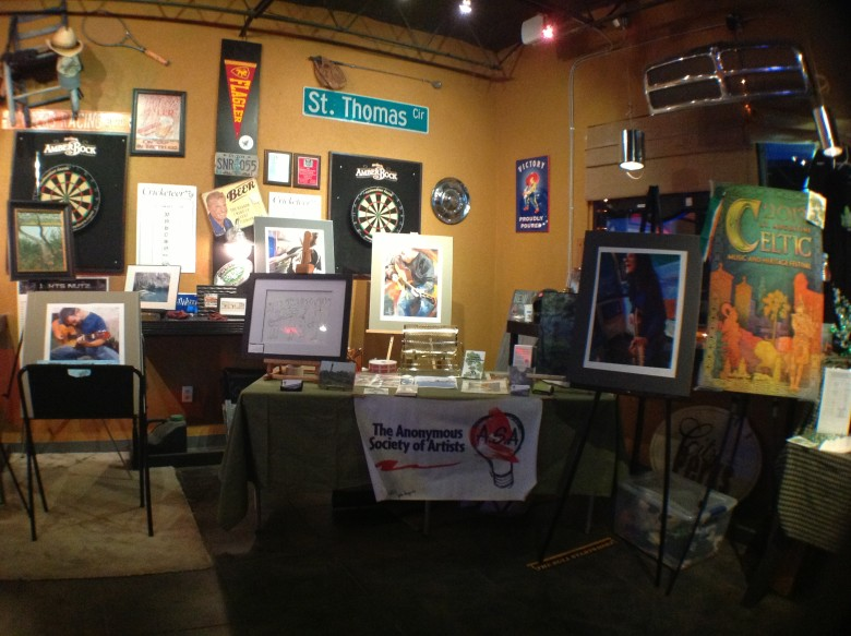 Jackson's Garage Art Show Recap