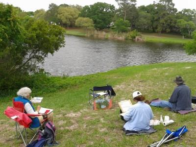 Second Sunday at North Holiday Lake