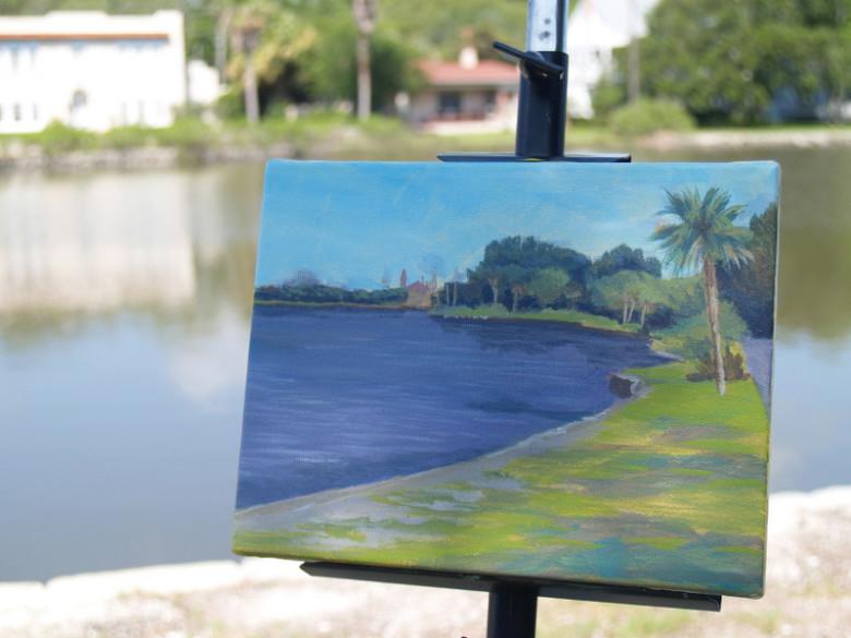 Sunday Morning at Maria Sanchez Lake