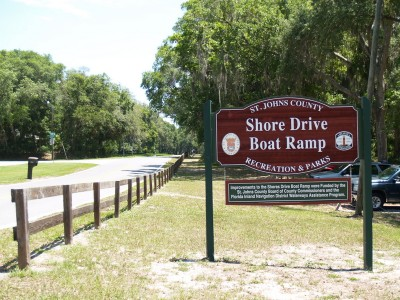 Shore Drive Boat Ramp for June 16 and 23