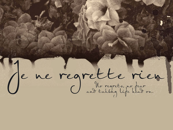 """The Red Sable's """"Je ne regrette rien"""" Exhibit Set for August 31 at DOS"""