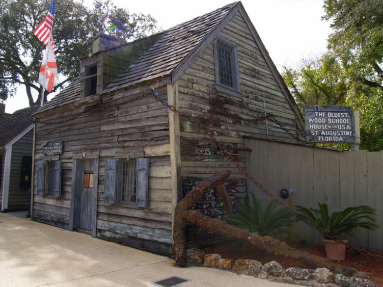 Oldest Wooden Schoolhouse for Sunday, Nov. 24