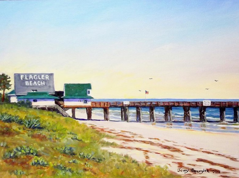 Flagler Beach Paint Out – March 1 to 7, 2014
