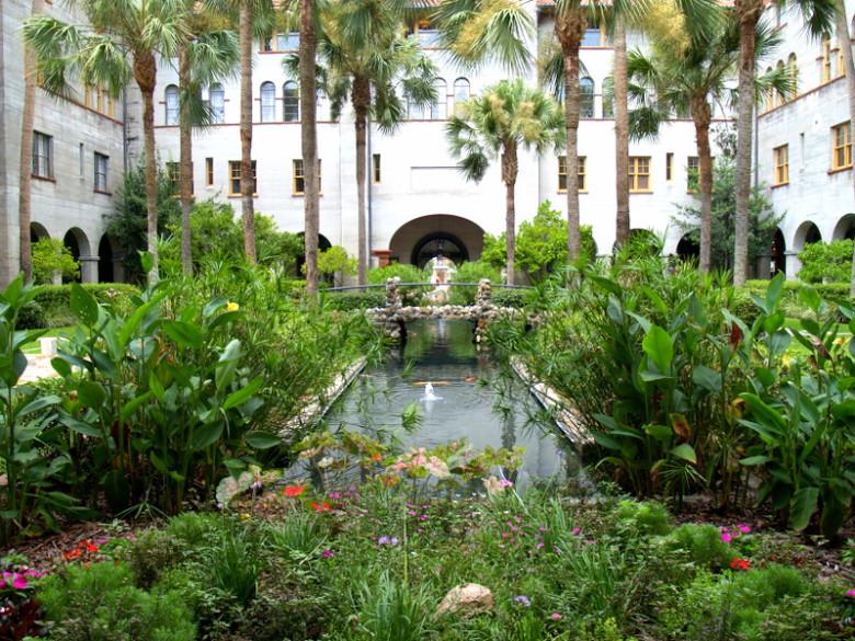 Lightner Museum Courtyard for Tomorrow Morning