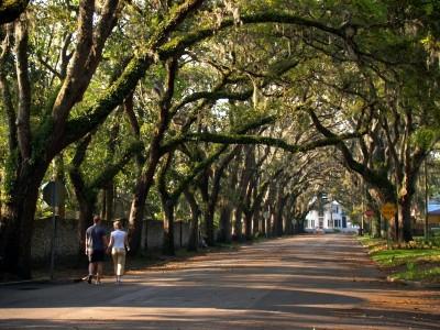 Magnolia Avenue for Easter Sunday